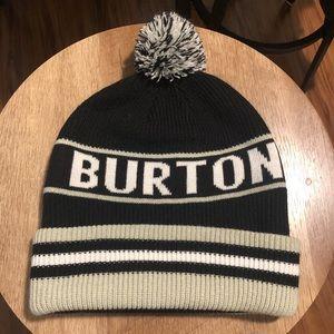 Burton Beanie Hat w/ Pom Pom